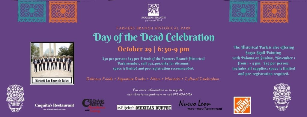 Farmers Branch Historical Park Day of the Dead Celebration