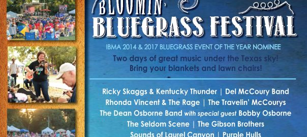 Bloomin' Bluegrass Festival in Farmers Branch