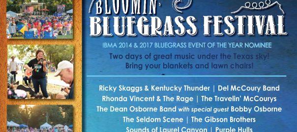 Bloomin' Bluegrass Festival in Farmers Branch