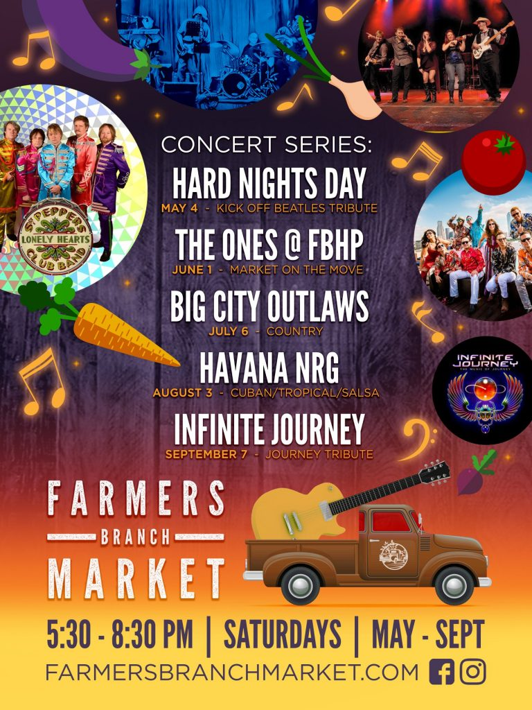 Farmers Branch Market Concert Series