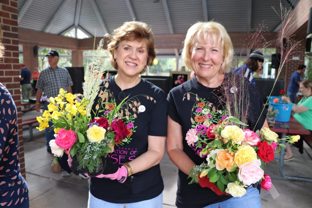 Celebration of Roses at the Bloomin' Bluegrass Festival in Farmers Branch