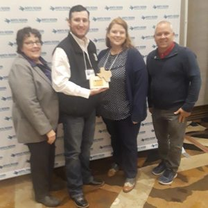 """Excellence in Maintenance"" Award for the Ladonia House Renovation at 2019 TRAPS North Region Conference."