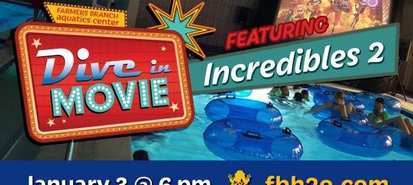 Farmers Branch Aquatics Center Dive In Movie