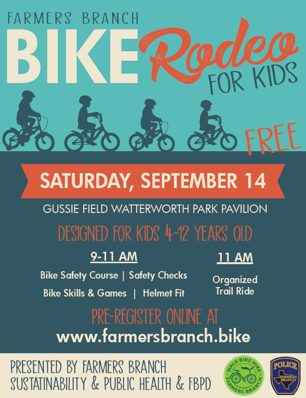 Farmers Branch Bike Rodeo For Kids