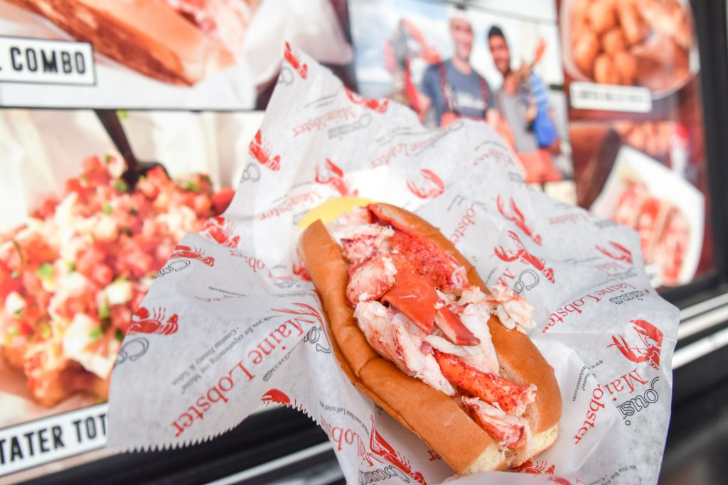 Cousins Maine Lobster at Farmers Branch Market - August 2019