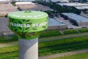 Farmers Branch Water Tank