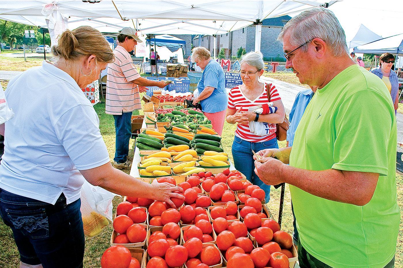 Farmers Branch Top 10: Farmers Market