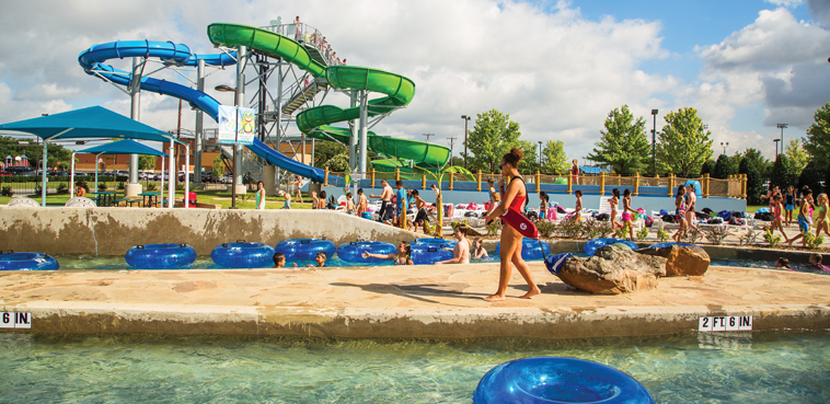 Frog Pond Waterpark in Farmers Branch