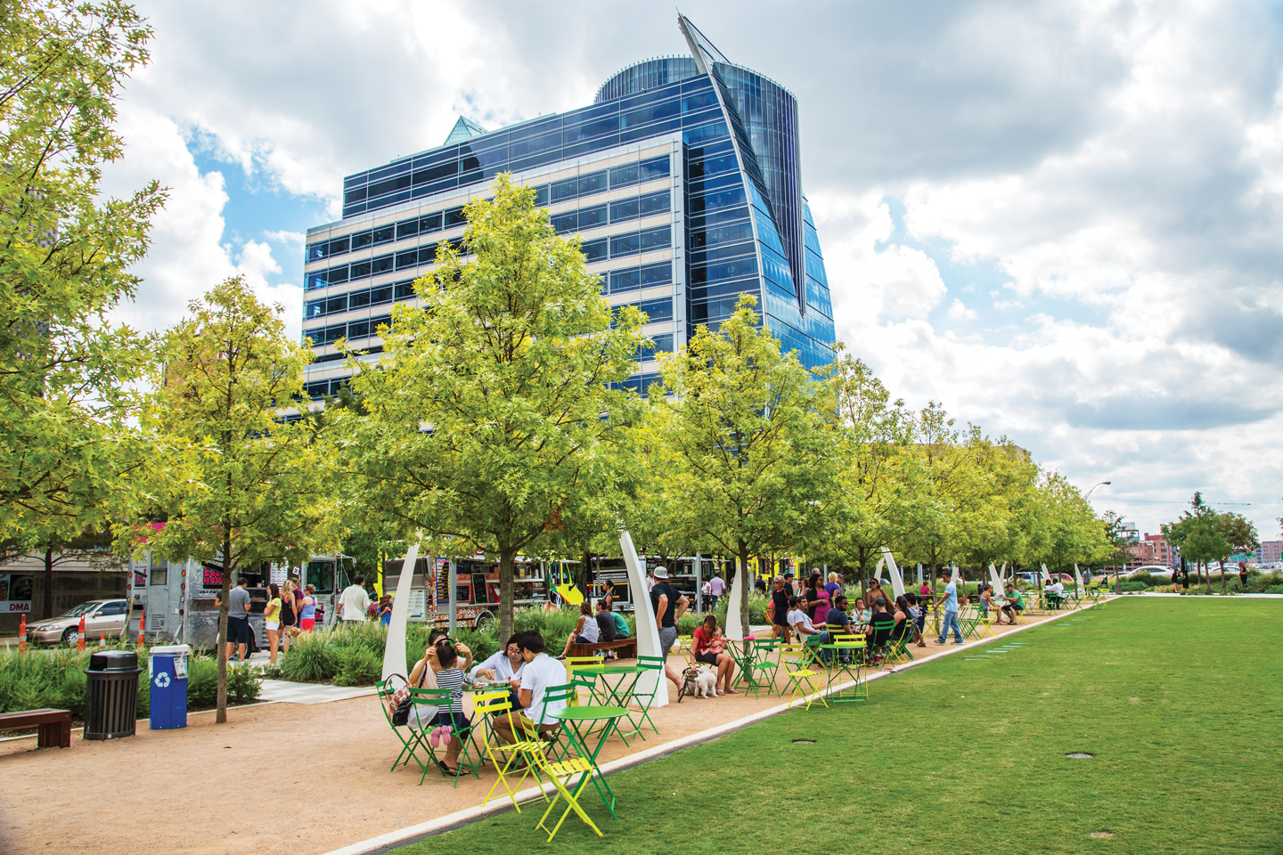 Klyde Warren Park Dog Friendly