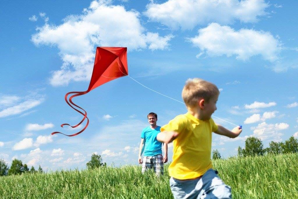 Fly A Kite at Farmers Branch Historical Park
