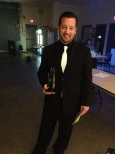 Jason Carter Fiddle Player of the Year IBMA