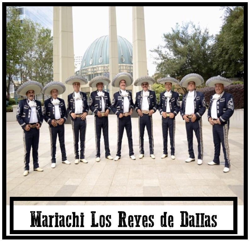 Mariachi Los Reves de Dallas in Farmers Branch for Day of the Dead