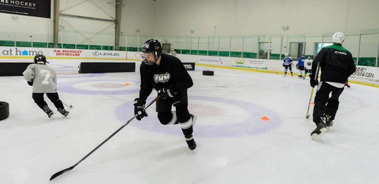 Hockey in Dallas; StarCenter Farmers Branch