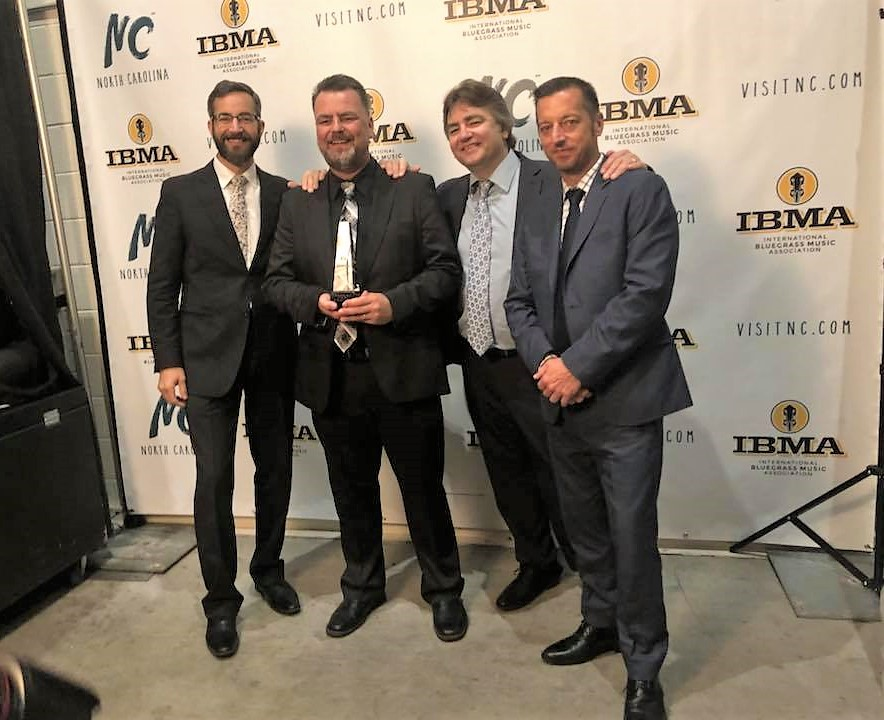 The Travelin' McCoury band at IBMA Awards will also perform at Bloomin' Bluegrass Festival in Farmers Branch