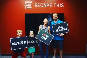 Escape This! Dallas featuring Tracy Howe in Farmers Branch