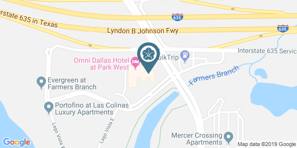 Omni Dallas Hotel at Park West Near Farmers Branch Maps and Directions