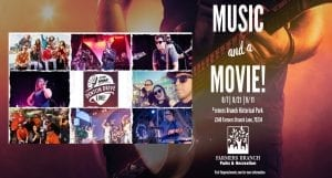 Farmers Branch Music and a Movie Denton Drive Live